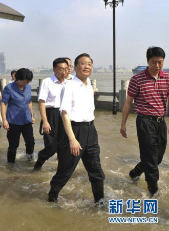 "Premier Wen Jiabao is asking local governments to adopt scientific measures to be better prepared for ""more serious floods and disasters""."