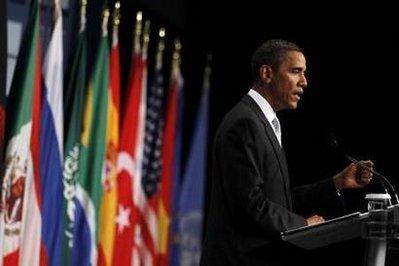 U.S.PresidentBarackObamaspeaksduringapressconferenceattheendoftheG20SummitinTorontoJune27,2010.REUTERS/JasonReed(CANADA-Tags:POLITICS)