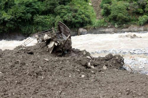 A mudslide has struck Puladi, a remote town in southwest China's Yunnan province early Wednesday. Latest figures show the disaster has left one person dead, dozens injured, and at least 90 missing.