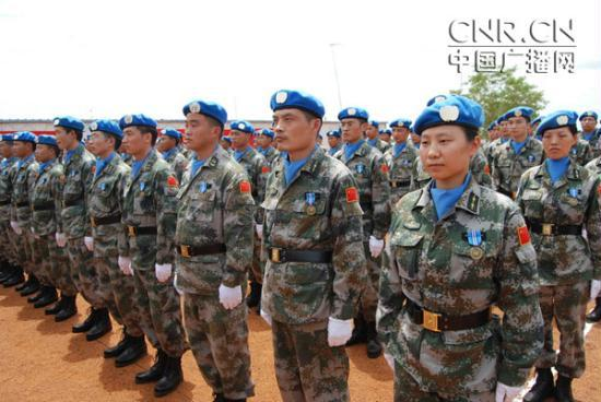 1340248346760 1340248346760 r Chinese peacekeepers in Sudan awarded Peace Medal of Honor