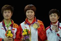China wins women´s singles in table tennis