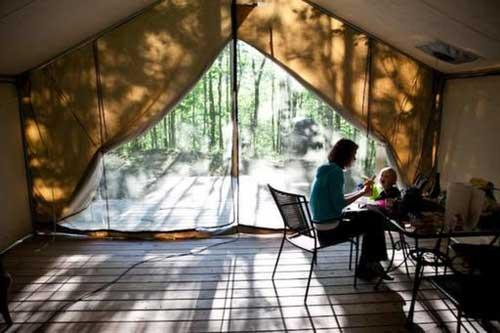 Glamping: New ways to go camping CCTV New