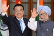 Li Keqiang meets Indian PM