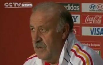 "Vicente Del Bosque, Spain Coach, said, ""I think we are starting with a balanced match, they are good in the attack, there are moments when they go back and are still able to play attacking football, they can create moves. They also have good individual players who are strong, so I think this is going to be a match of two teams who are strong."""