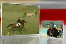 Telephone interview: Kazakhstan athlete falls from horse