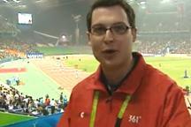Reporter: Liu Xiang wins 3rd straight Asian Games