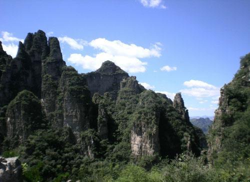 易县狼牙山自然风景区