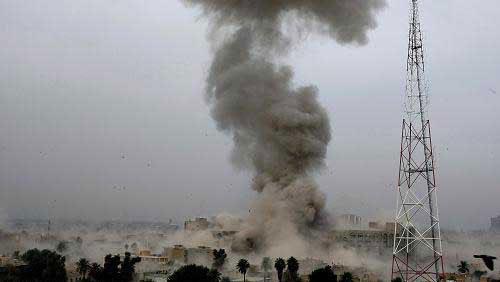 المائة وخمس وخمسين قتيلا و500جرح فى انفجارات بغداد