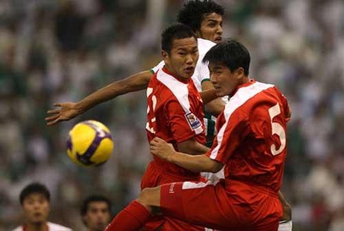 朝鲜队比赛精彩瞬间