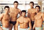 意大利游泳队半裸写真