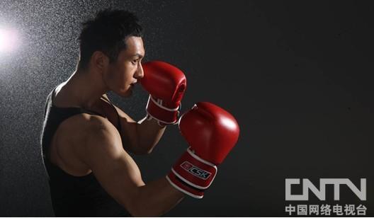 """拳击系列:黄晓明""""一拳当关,万夫莫开""""1"""