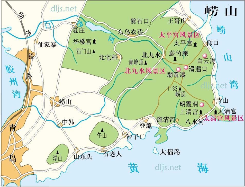 青岛崂山流清河_直播华夏