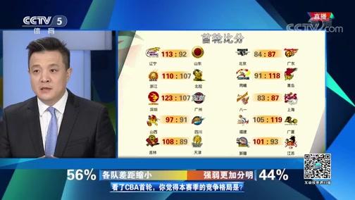 [CBA]杨健:场次的增加 对各队提出了更高要求(咖吧)