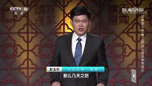 [百家讲坛]诗歌故人心(第二部)28 红萼无言耿相忆 姜夔与范成大