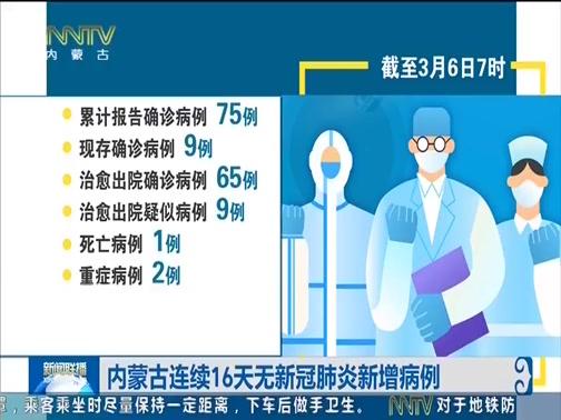 [内蒙古新闻联播]内蒙古连续16天无新冠肺炎新增病例