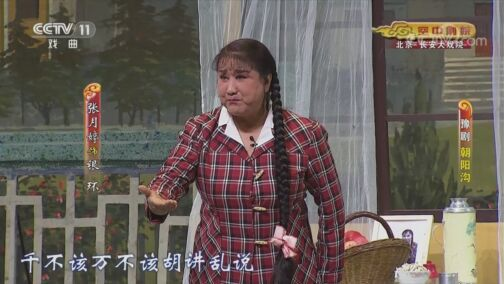 《CCTV空中剧院》 20200805 豫剧《朝阳沟》 2/2