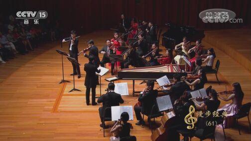 [CCTV音乐厅]《d小调双小提琴协奏曲》第一乐章 小提琴:刘霄 黄蒙拉 指挥:陈琳 协奏:中央音乐学院名家室内乐团