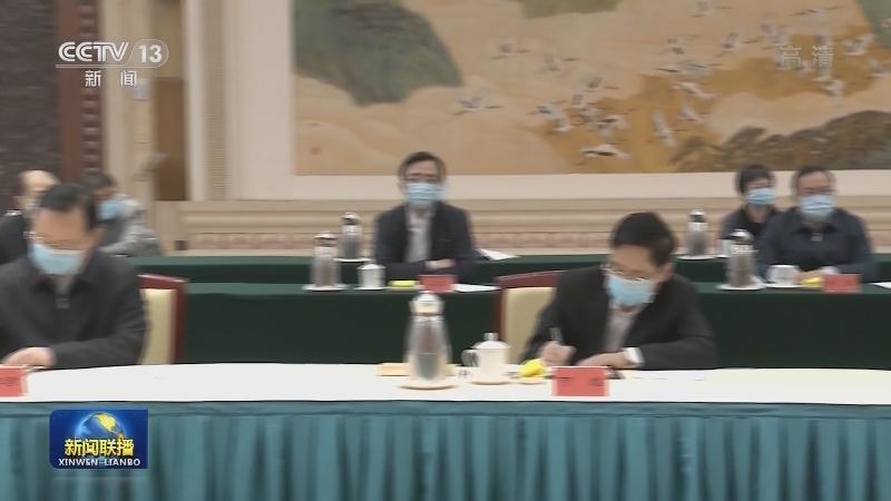 尤权受中共中央委托 向党外人士通报中央经济工作会议精神