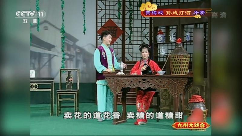 黄梅戏孙成打酒片断 主演:左胜利 董家林 郑玉兰 九州大戏台 20210321