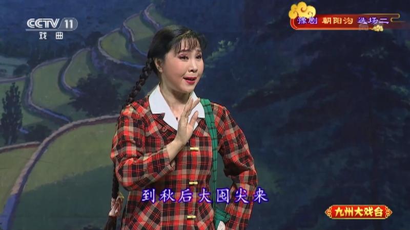 豫剧朝阳沟选场二 主演:杨红霞 盛红林 九州大戏台 20210428