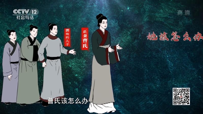 《法律讲堂(文史版)》 20210510 明清御批案·宠妾虐妻无恩义