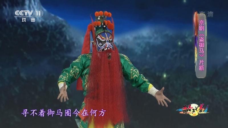 京剧盗御马片断 表演:李旭 青春戏苑