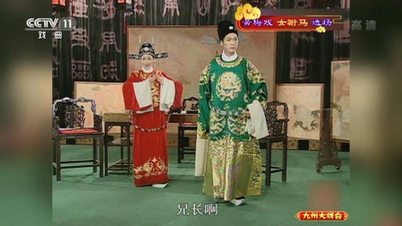 黄梅戏女驸马选场 主演:韩再芬 李萍 九州大戏台 20210708