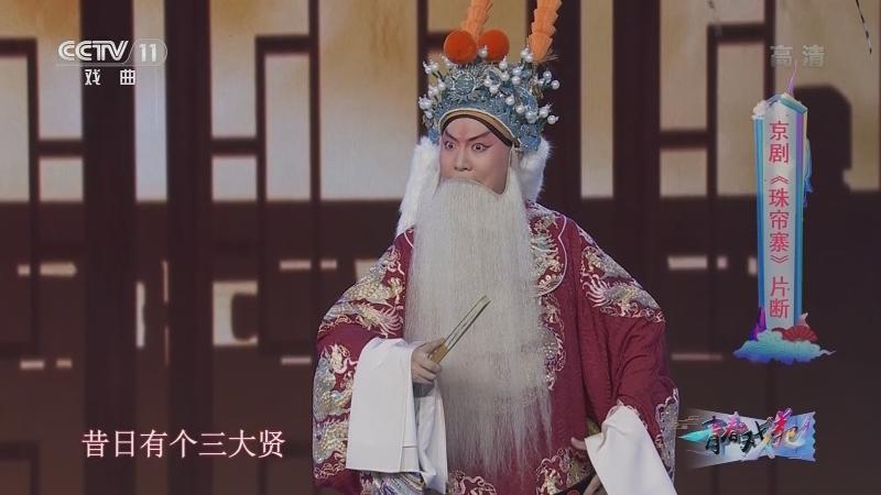 京剧珠帘寨片断 表演:于欣泽 青春戏苑