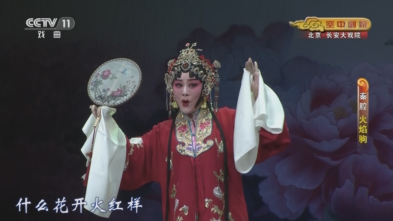 秦腔火焰驹全场戏 主演:侯红琴 张涛 CCTV空中剧院 20210825