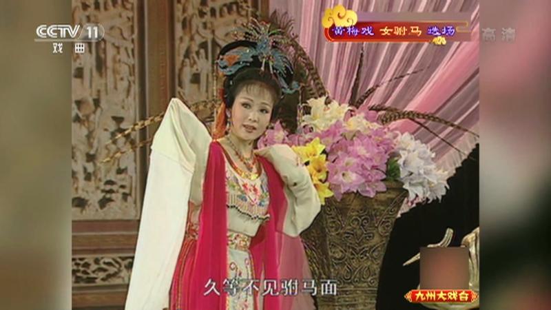 黄梅戏女驸马选场 主演:韩再芬 李萍 九州大戏台 20210829