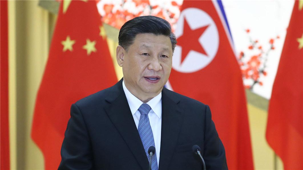 习近平出席朝鲜劳动党委员长、国务委员会委员…