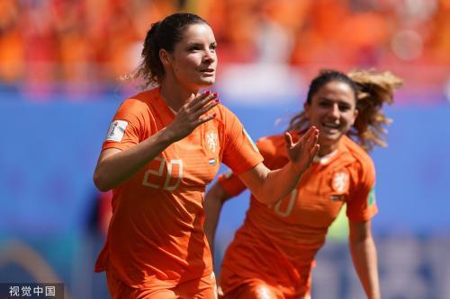 [高清组图]女足世界杯-荷兰女3-1喀麦隆取两连胜
