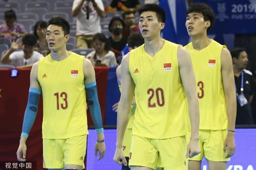 [图]奥运资格赛-中国男排负阿根廷 无缘出线