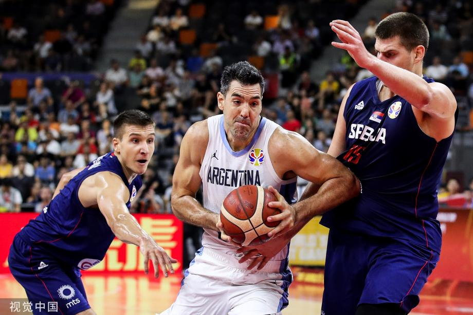 [图]斯科拉砍20分 阿根廷胜塞尔维亚挺进半决赛