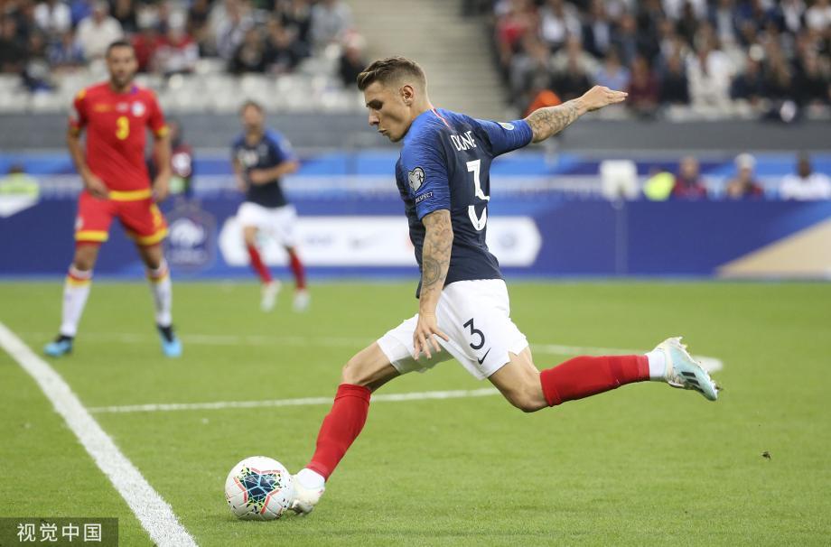 [图]格子助攻+再失点 科曼进球+中楣 法国3-0胜