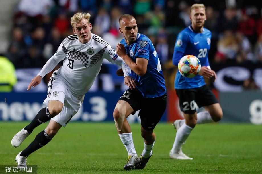 [图]欧预赛-京多安梅开二度 10人德国客场3-0胜