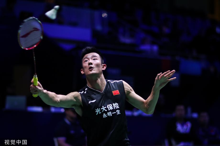 [图]羽毛球法国公开赛 谌龙胜丹麦好手将战林丹
