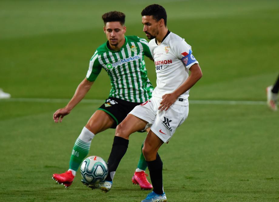 西甲-时隔93天重启 塞维利亚德比战2-0轻取贝蒂斯