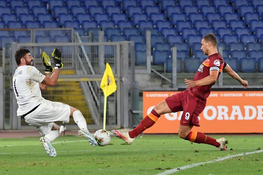 意甲-维勒图特点球梅开二度 罗马击败佛罗伦萨