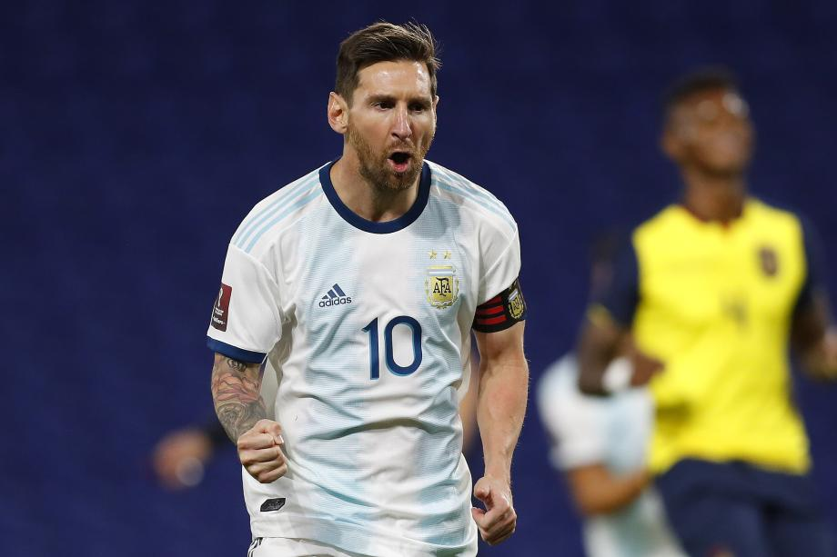 世预赛-梅西点球破门 阿根廷一球小胜厄瓜多尔