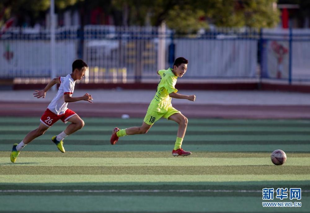 宁夏盐池:快乐足球 乐享暑假插图(1)