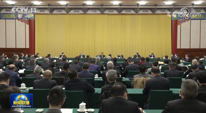 韩正与香港、澳门界别政协委员共商国是