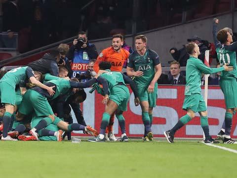 [欧冠]半决赛次回合:阿贾克斯2-3热刺 比赛集锦