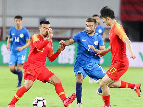 [国足]广州国际足球赛:中国VS菲律宾 上半场
