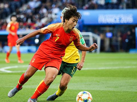 [女足世界杯]小组赛B组:南非VS中国 上半场