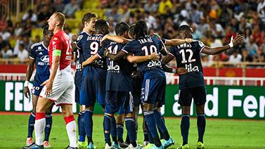 [图]新赛季法甲揭幕 里昂3-0完胜摩纳哥