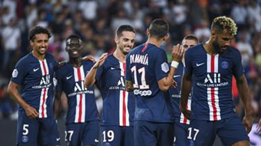 [图]姆巴佩卡瓦尼伤退替补中锋两球 巴黎4-0胜