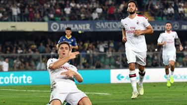[天下足球]取两连胜 AC米兰客胜维罗纳