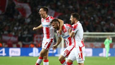 [图]欧冠小组赛 贝尔格莱德红星3-1奥林匹亚科斯