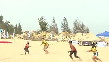 思明区打造沙滩极限飞盘新基地[今日视区 2019.10.29] 00:02:07